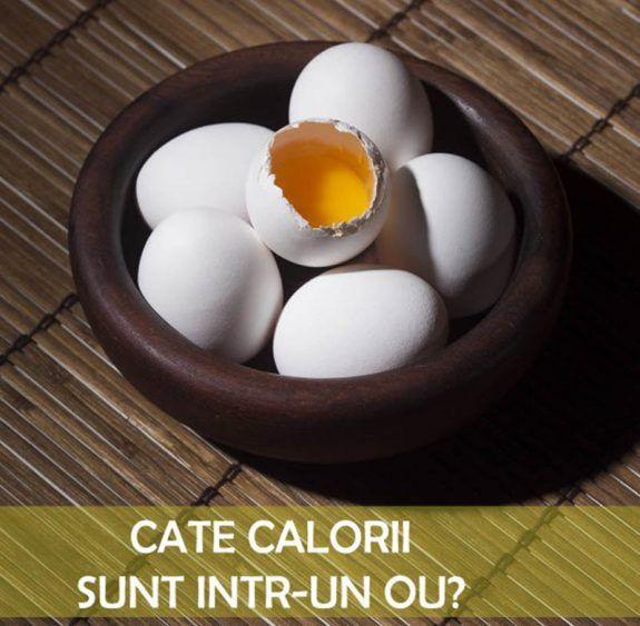 Cate calorii are un ou? - Nutriblog
