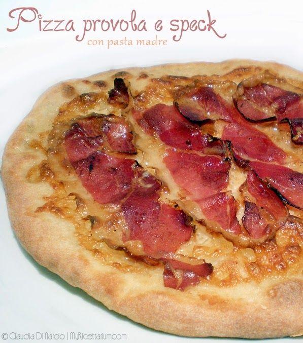 My Ricettarium: Pizza tonda con provola e speck