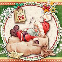 December 26 - Digital Stamp - $3.00 : Digital stamp, scrapboking, crafts, doodles, cliparts & templates by The Paper Shelter