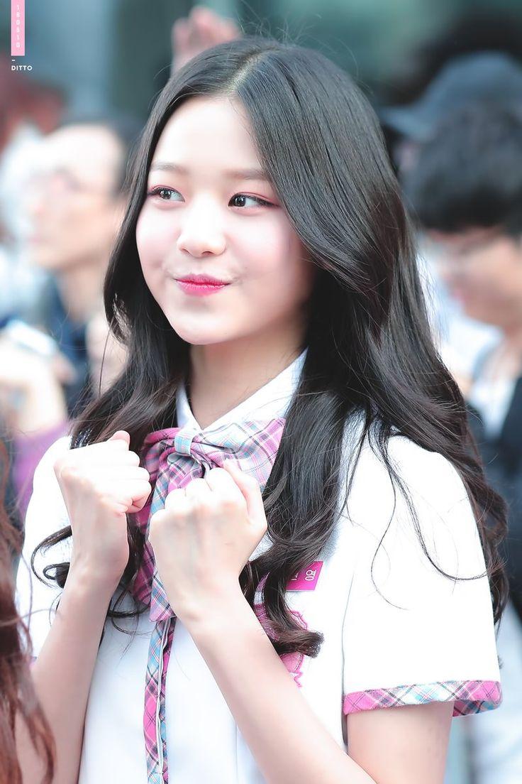 @Ditto_kor   Gaya rambut, Gaya rambut gadis, Gaya rambut panjang