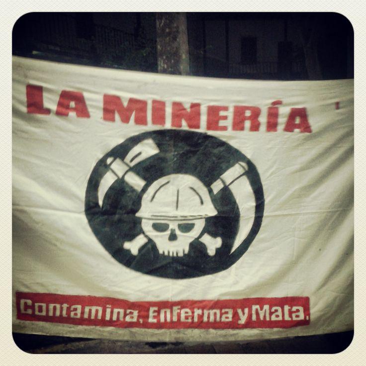 #ResistenciaCivil Minería en el río al vieja de Cartago