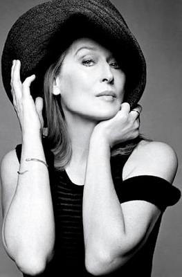 """""""I didn't have any confidence in my beauty when I was young.  I felt like a character actress, and I still do""""  Meryl Streep"""