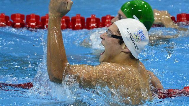 """Florent Manaudou-Le Rhodanien a remporté le 50m nage libre en 21""""34"""