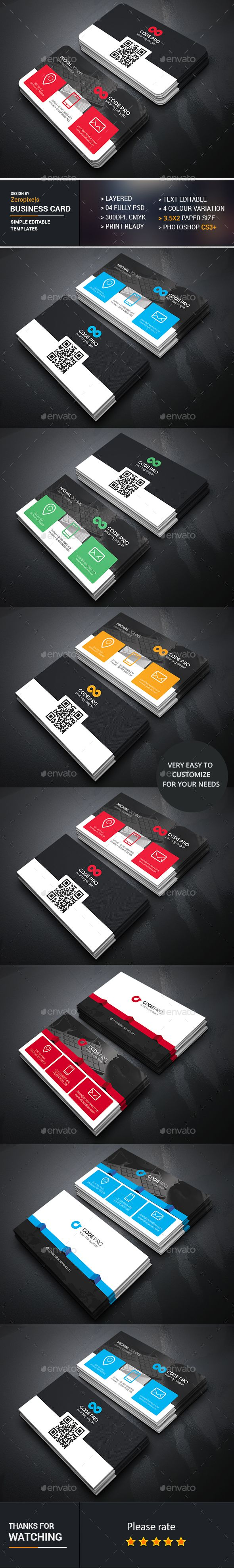 16 best qr code business cards images on pinterest business business card bundle business cards print templates download here httpgraphicriver magicingreecefo Gallery