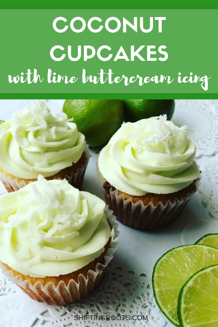 No hot holiday this year?  Make these tropical-inspired Coconut Lime cupcakes instead.  This recipe is easy to make with simple ingredients you likely have on hand.