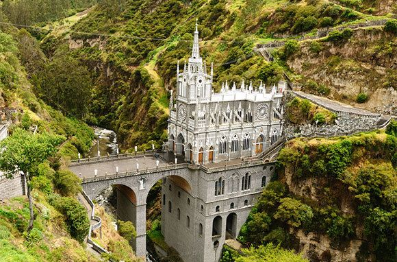 Nine Reasons to Visit South America Right Now: Church of Las Lajas, Colombia | Smarter Travel - June 26, 2013