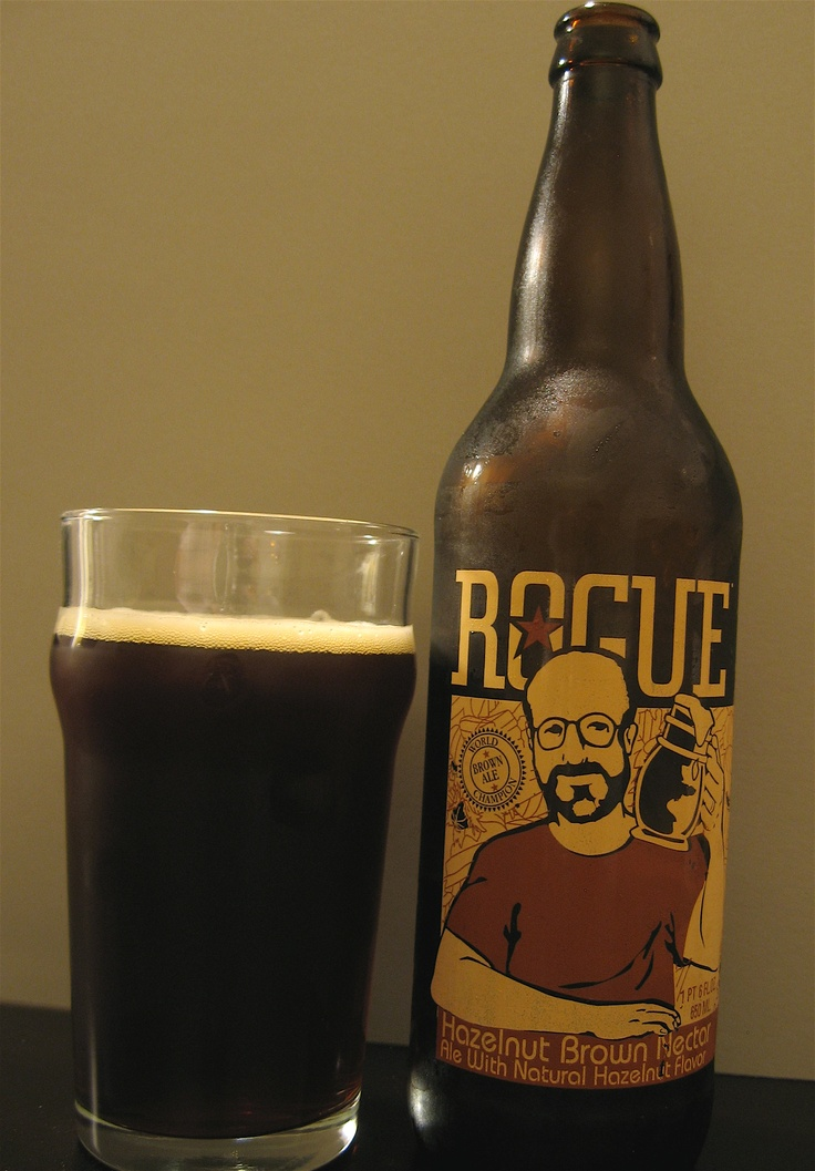 Brew Blog: Rogue Ales' Hazelnut Brown Nectar - Eating Our Words