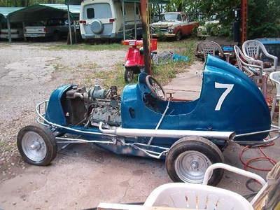 racing auto Chet midget richards