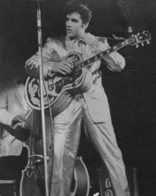 Elvis at Maple Leaf Gardens, Toronto April 2, 1957