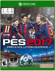 Boxshot: Pro Evolution Soccer 2017 by Konami