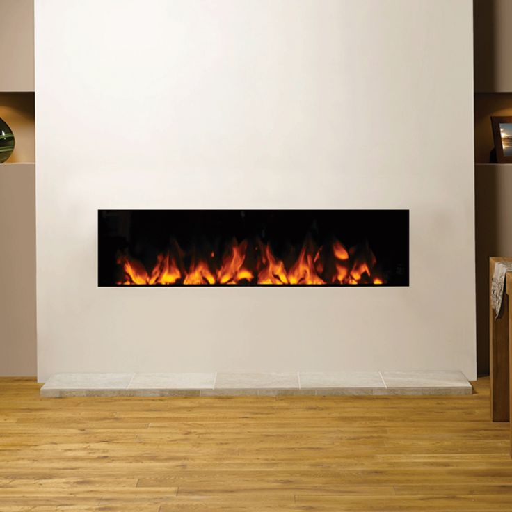 Gazco Studio Electric Inset 150 frameless inset fire has grand proportions, making this fire a truly impressive statement in a large room. Bell: EST 1898.