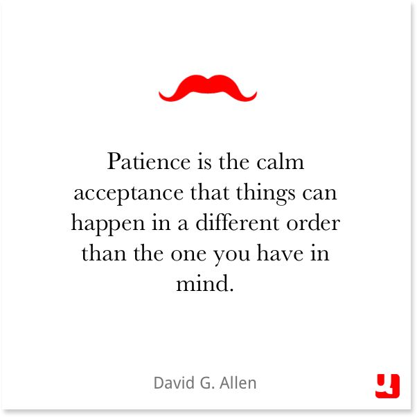 If Things Were Different Quotes: Patience Is The Calm Acceptance That Things Can Happen In
