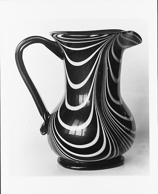 Pitcher                                                                                 Date:                                      ca. 1860                                                       Geography:                                      Mid-Atlantic, New Jersey, United States