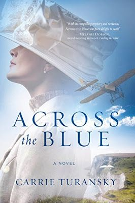 ACROSS THE BLUE by Carrie Turansky, review by Rebecca Maney