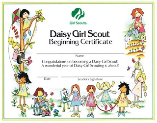 girl scout daisy first meeting | Girl Scout Troop #738: March 2010