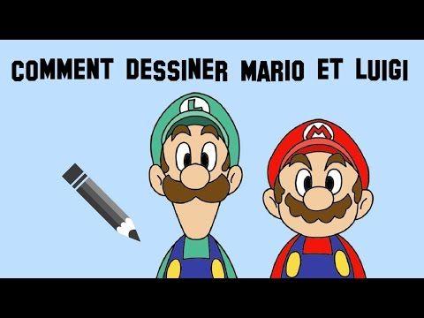 Comment dessiner Mario et Luigi - YouTube