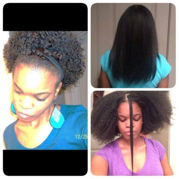 Natural Hair Growth In A Year