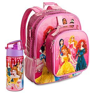 Disney Princess Backpack & Lunch Tote Collection | Disney Store