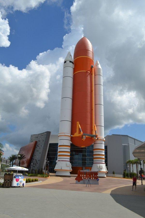 Космический Центр им. Джона Ф. Кеннеди на мысе Канаверал в штате Флорида, США