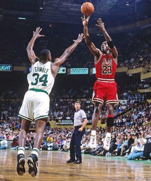 Michael Jordan vs. Kevin Gamble