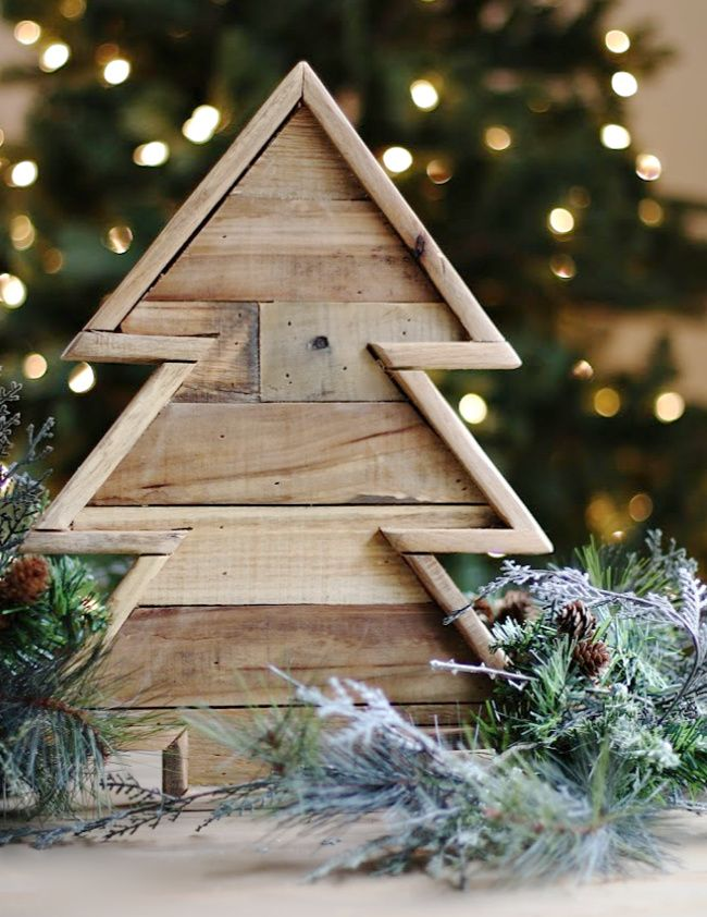 Handmade Christmas Diy Wood Christmas Tree Thistlewood Farm Christmas Tree Decorations Diy Wood Christmas Tree Pallet Wood Christmas Tree