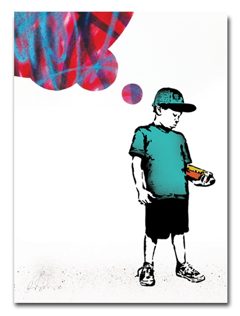 True Thoughts Print, Rene Gagnon