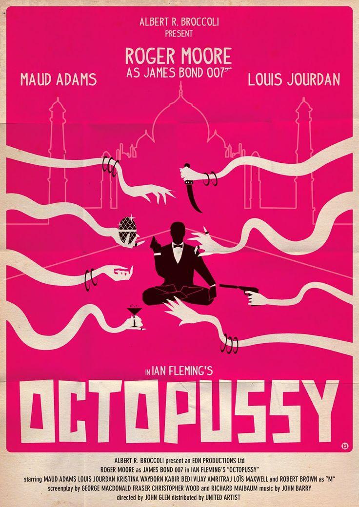 Coleccionista de Imagenes: Alain Bossuyt, Posters de James Bond al estilo de…