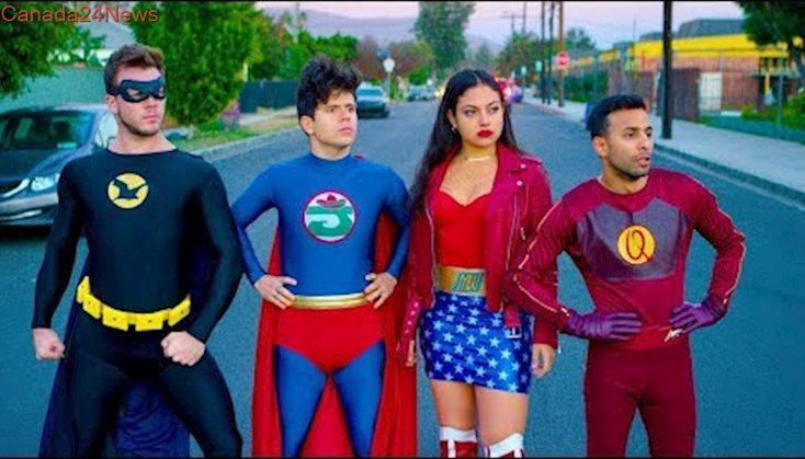 Superhero Lawsuit   Rudy Mancuso, Anwar Jibawi, Inanna Sarkis & Jimmy Tatro