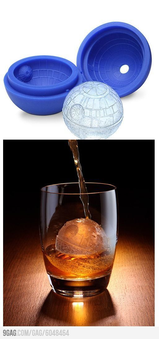 Fancy a set of Death Star ice cubes as a last minute Christmas gift for someone? The image above is doing the rounds and no doubt came from some clever ret
