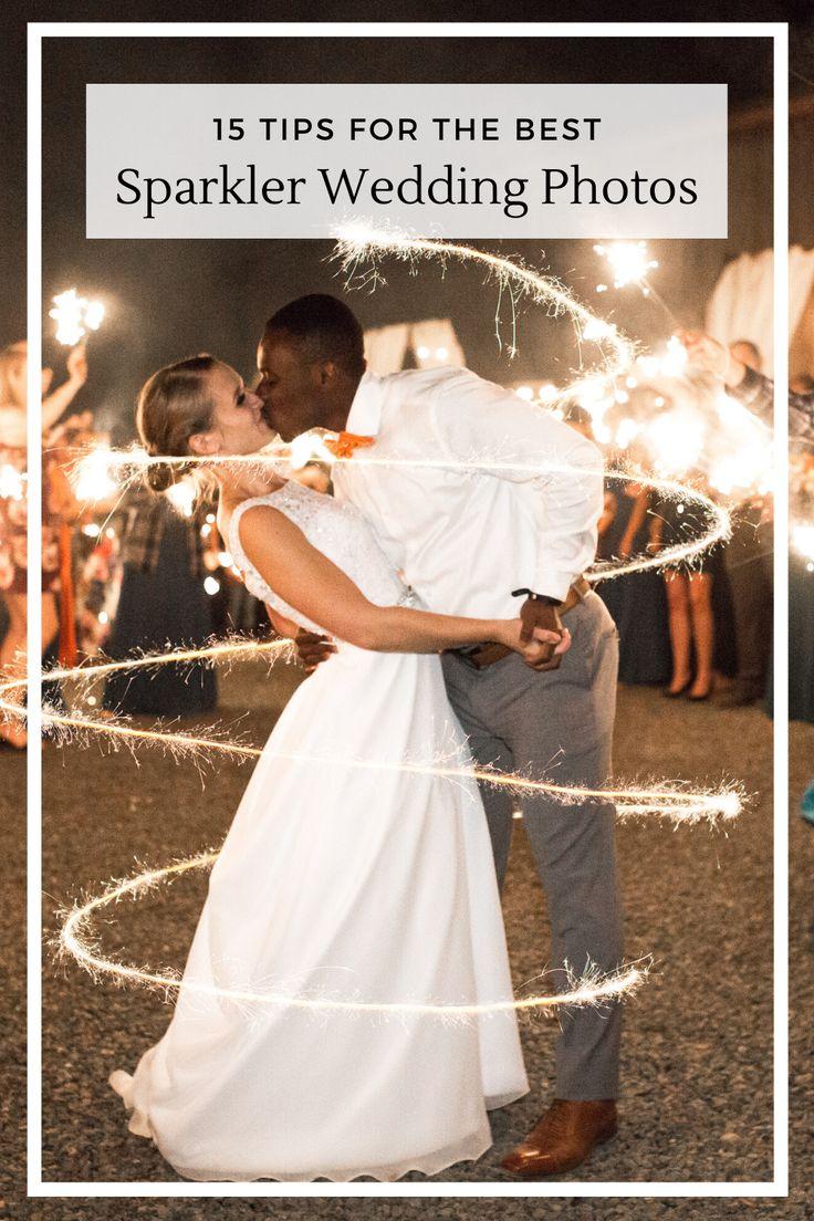 15 Tips for the Best Sparkler Exit Wedding Photos — Megan