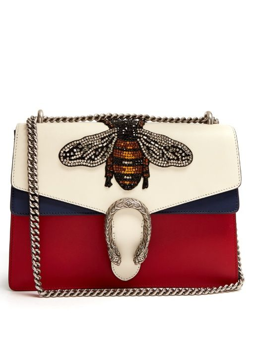 Gucci Dionysus large bee appliqué shoulder bag