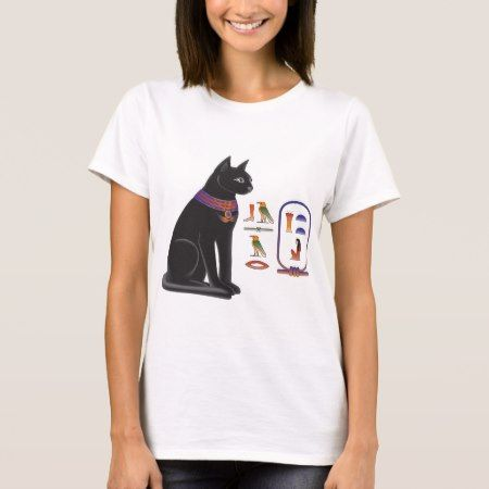 Egyptian Cat Goddess Bastet T-Shirt - tap to personalize and get yours