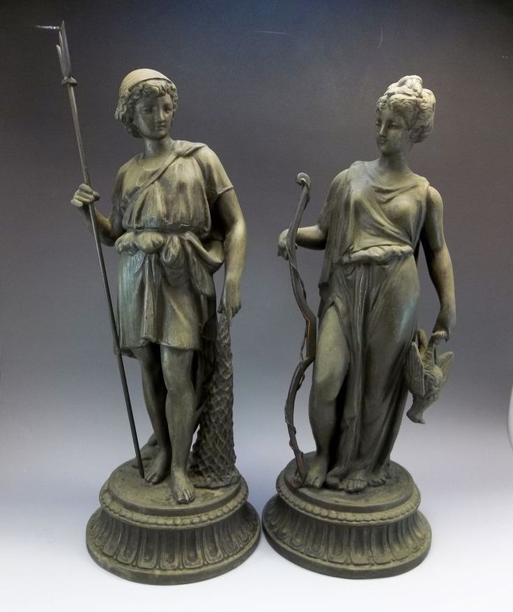 spelter women Varying types of antique spelter on sale today buy antique spelter now disc sanders for  pair of 2 old antique spelter metal statues colonial man & women pair 8 .