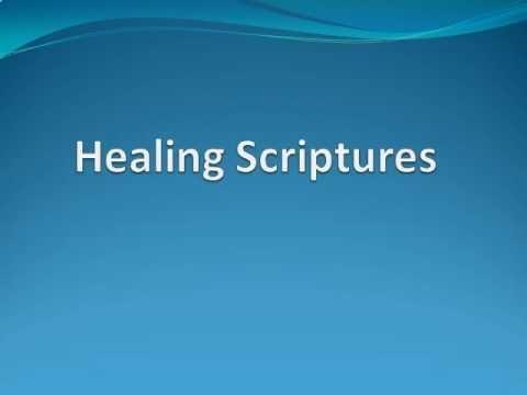 Healing Scriptures with Audio, Part 1