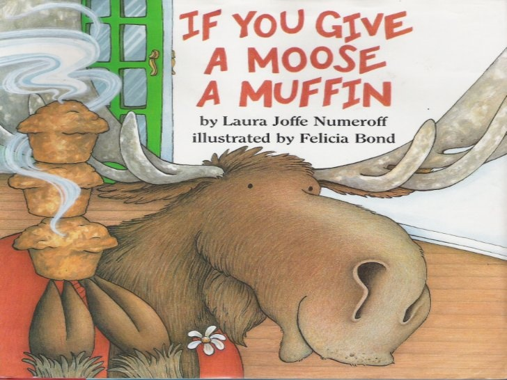 If You Give a Moose A Muffin by Laura Numeroff- slideshow of the book!