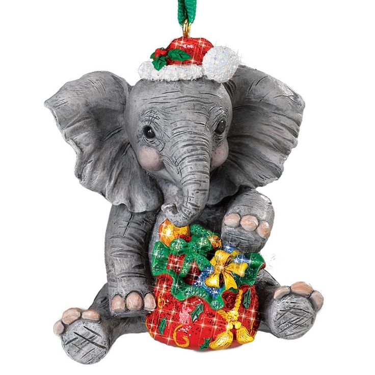 36 best Elephants: Ornaments images on Pinterest | Elephants ...