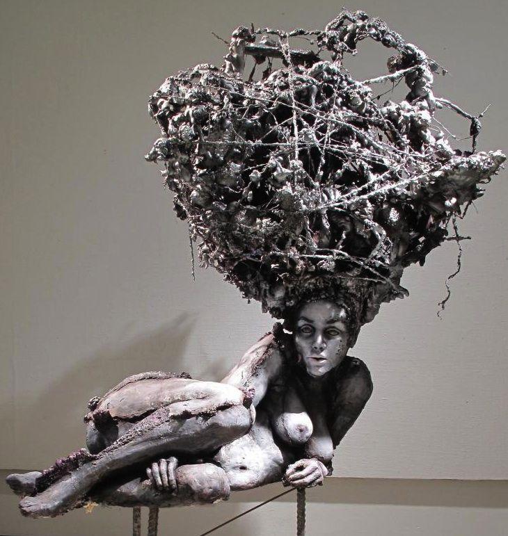 Essi Korva, Painava, 190 x 160 cm, 2010