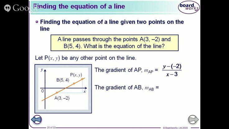 Coordinate geometry (1)