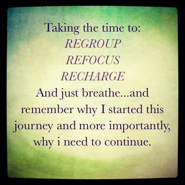 Take Time To Reflect Quotes: Taking Even A Little Break From Your Workout Routine Or