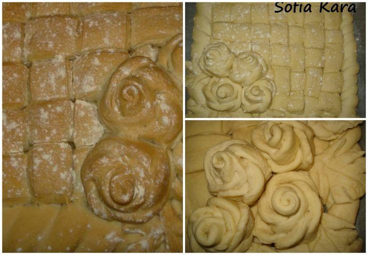 Κεντημενο ψωμι! Εναι ωραία ιδεα για ψωμί στους γαμους Την λεγόμενη κουλούρα,επίσης για τα Χριστουγεννά για μια γιορτή, για το μπουφέ σας! Χαρμά οφθαλμών και πεντανόστιμο! Συνταγη 1κιλο αλευρι για όλες τις χρήσεις 2 φακελάκια ξηρη μαγια 2κουταλάκια του γλυκου αλατι 1 κουταλάκι του γλυκου ζάχαρη 4 με 5 κουταλιές της σούπας  ελαιόλαδο 680 …