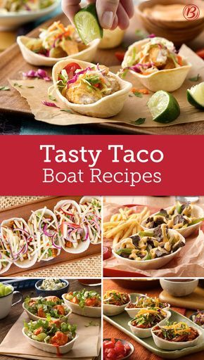 Easy to fill, hold, and eat, Soft Tortilla Taco Boats from Old El Paso are great for more than just taco night!