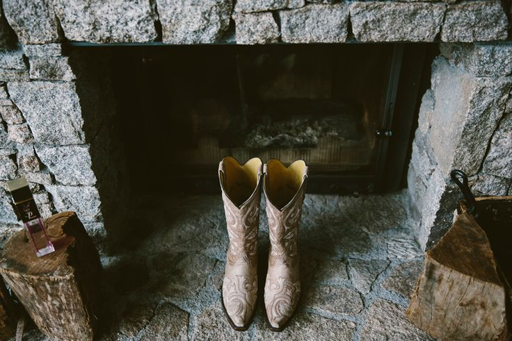 Gorgeous boots for a country bride :) Image: Cavanagh Photography http://cavanaghphotography.com.au