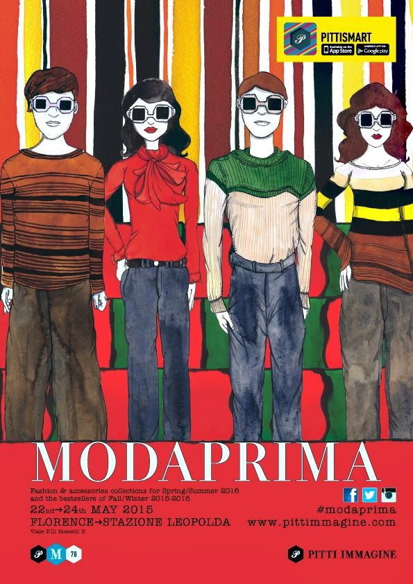 Paola Davoli italian fashion: Where is Modaprima 78 Paola Davoli 2016 Spring Sum...