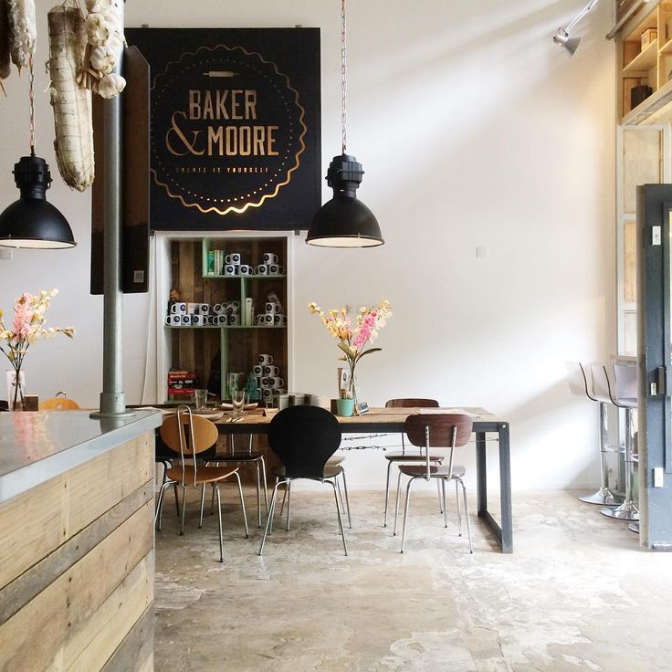 cafe company lunchroom industrial sober stoer interieur interior