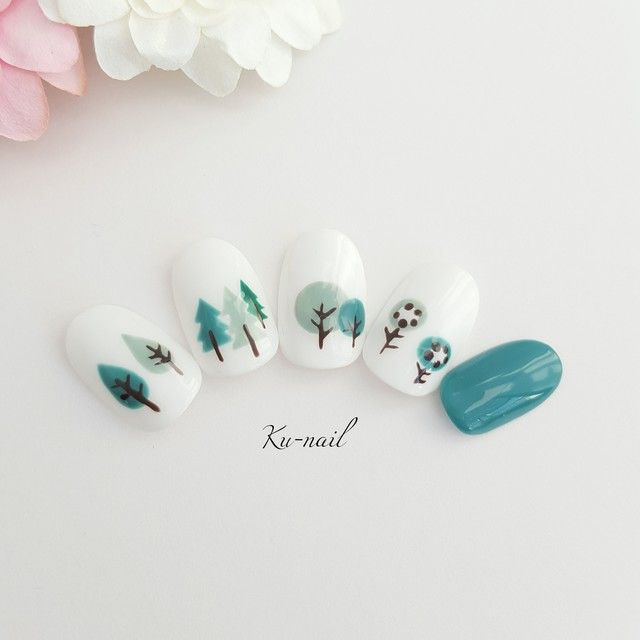 【New再販】気になる木nail | ハンドメイド、手作り作品の通販 minne(ミンネ)