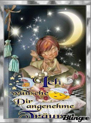 Einen schönen Abend wünsche ich Dir und viel später eine gute Nacht
