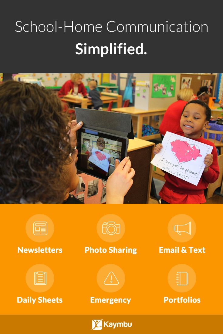 Delightfully manage all of your school communications in one place with Kaymbu. From Photo Sharing to School Newsletters, and even Emergency Messaging, effectively connect with young, digital-native parents. Simple, Powerful, 100% Digital.