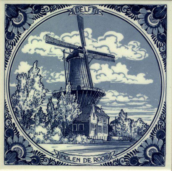 Декупаж картинки голландия