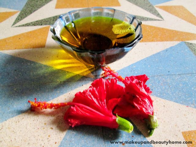 DIY Hibiscus Flower Infused Mustard Hair Oil For Hair Growth June 16, 2013 by Arshita · 11 Comments  DIY Hibiscus and Mustard Hair Growth...