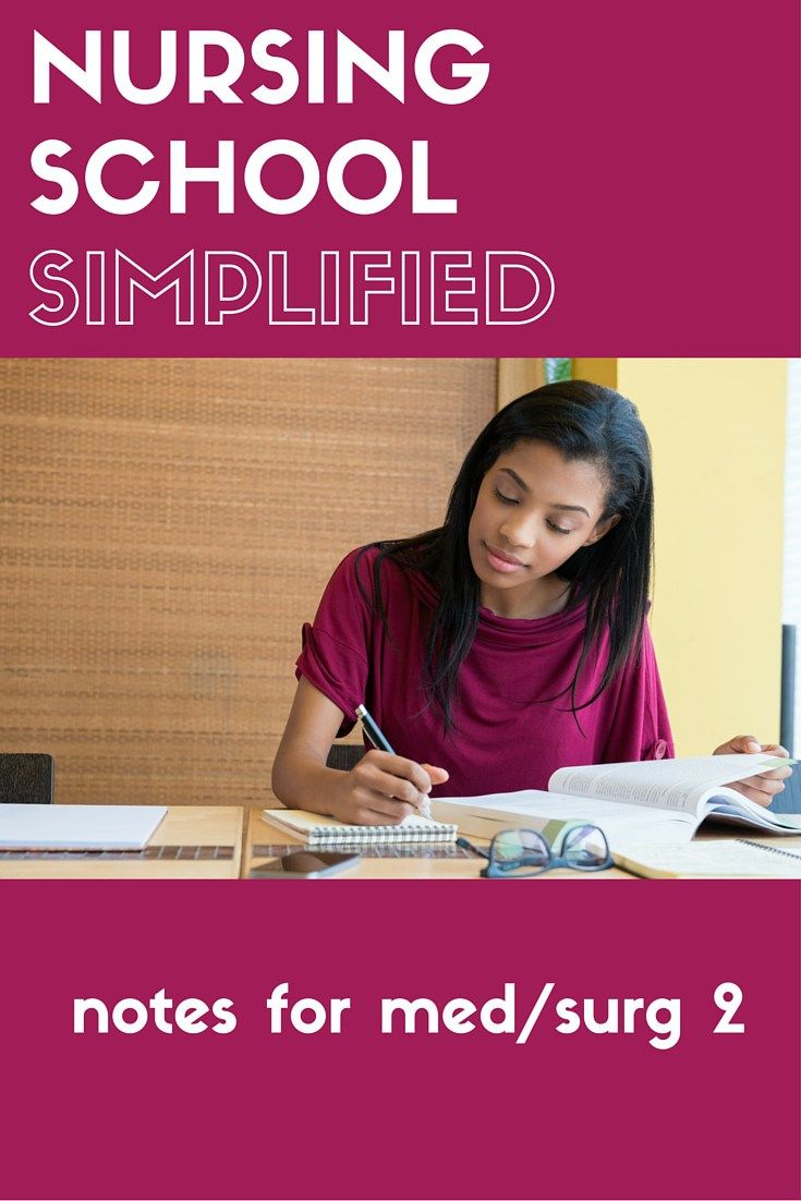 Amazing nursing study guides and notes for Advanced Med/Surg.